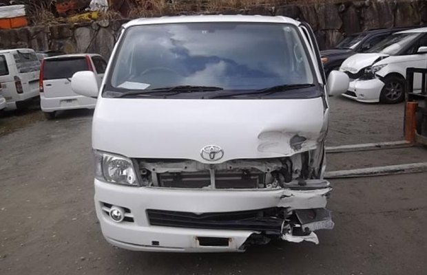 car accident damaged
